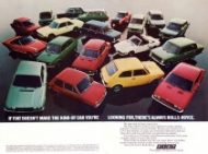 Brochure Fiat 1973