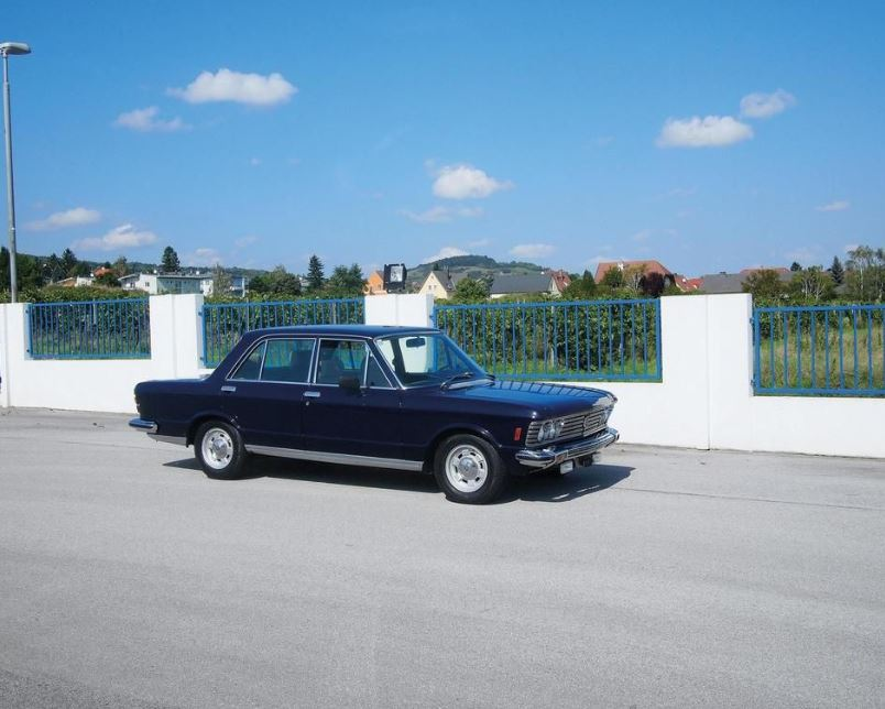 Fiat 130 armoured