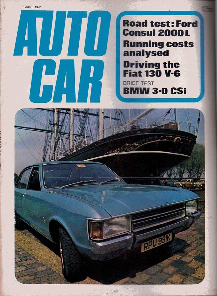 Fiat 130 in AutoCar 1972