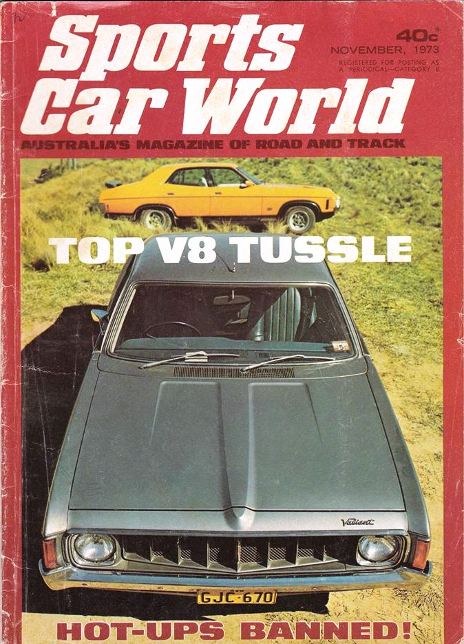 Fiat 130 in Sports Car World