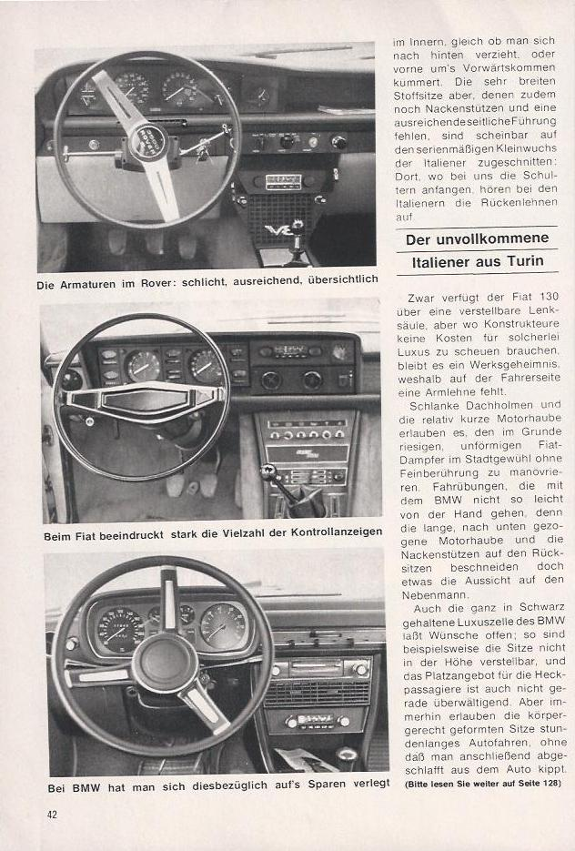 Fiat 130 in Hobby