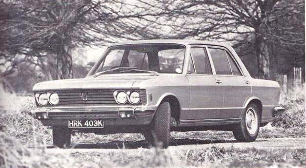 Fiat 130 in AutoCar