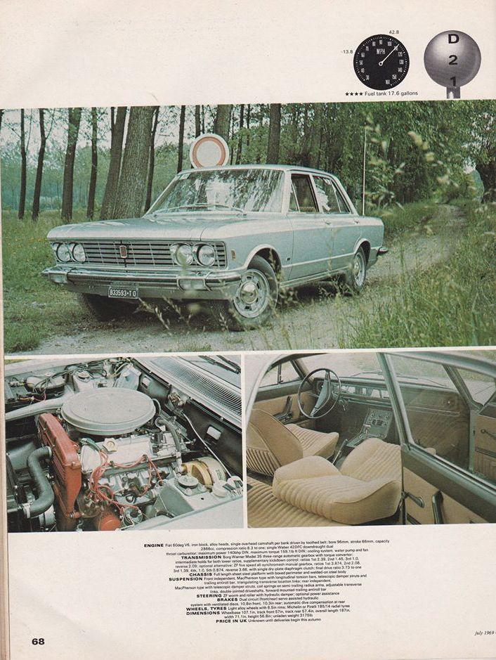 Car 1969 Fiat 130