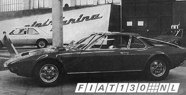 Fiat 130 in show
