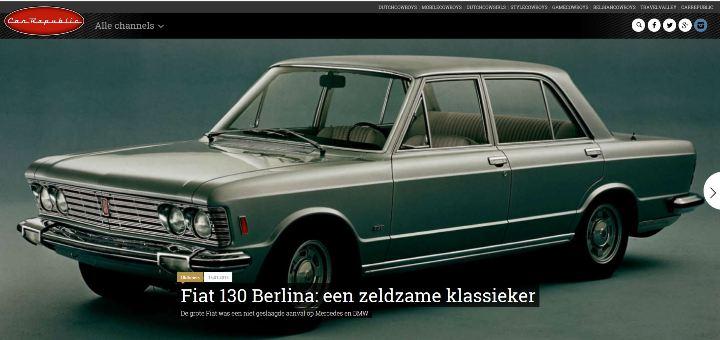 Car Republic Fiat 130