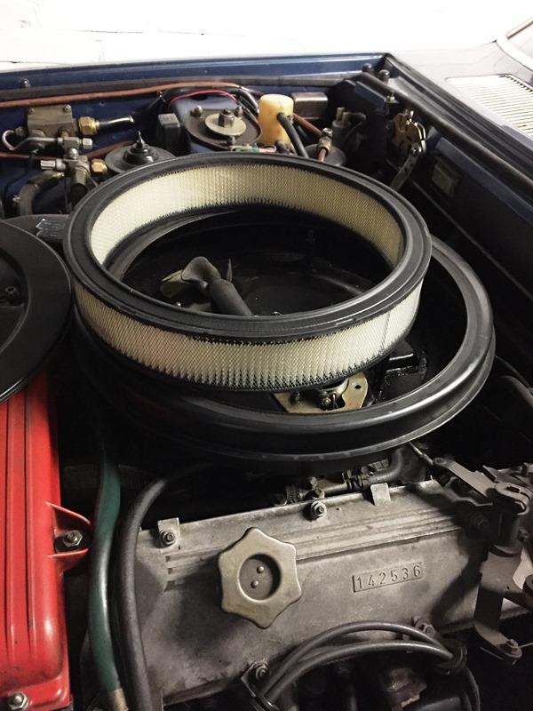 luchtfilter Fiat 130