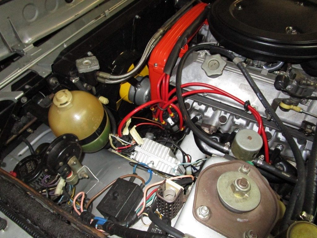 electronic ignition Fiat 130