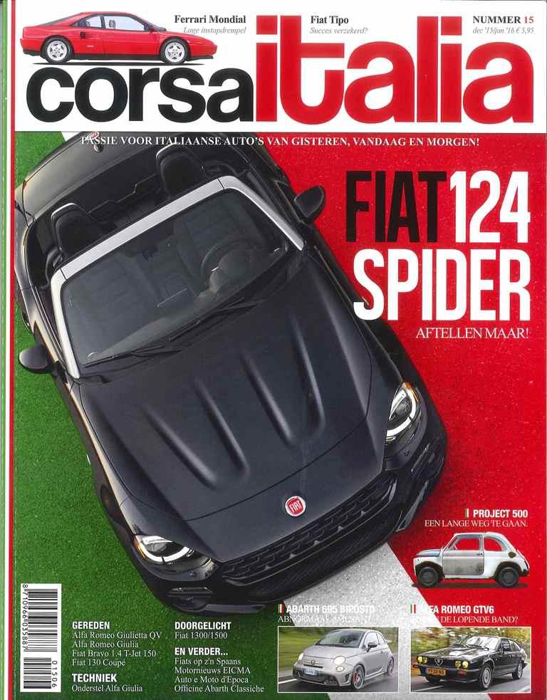 Corsa Italia met Fiat 130
