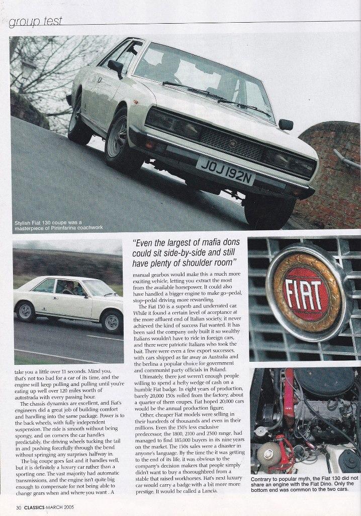 Classics 2005 Fiat 130