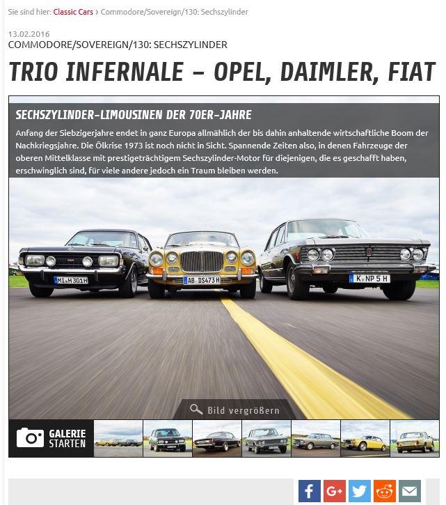 Auto Zeitung 2016