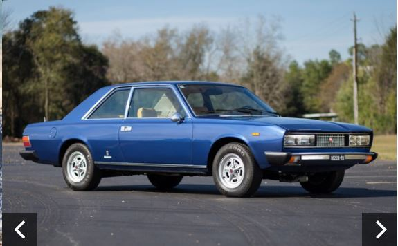 auction Fiat 130 coupe