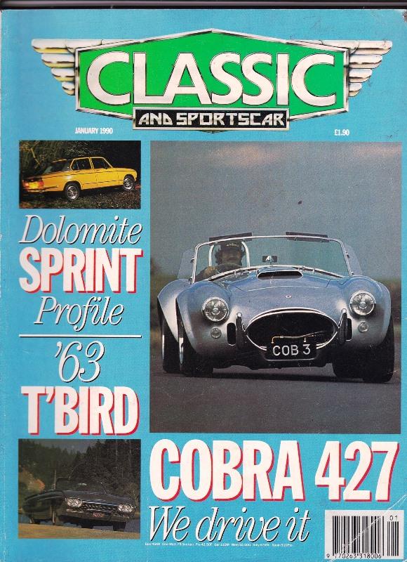 Classic & Sports Car (1990)