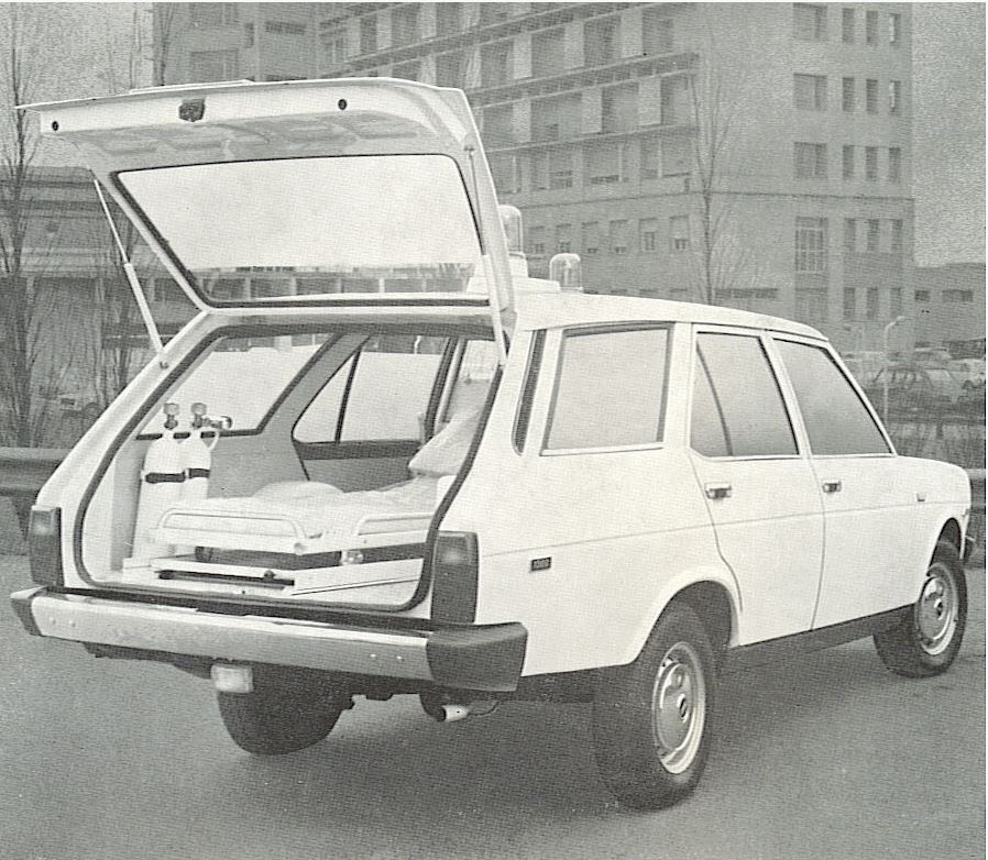 Fiat 131 ambulanze