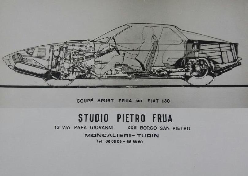 FIAT 130 coupe FRUA