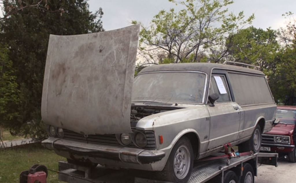 Funeral Fiat 130