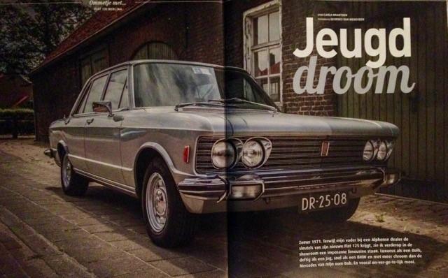 Lex van der Laan Fiat 130