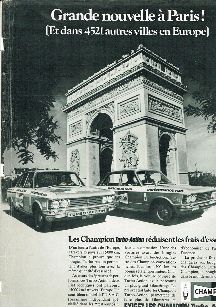 Champion Fiat 130