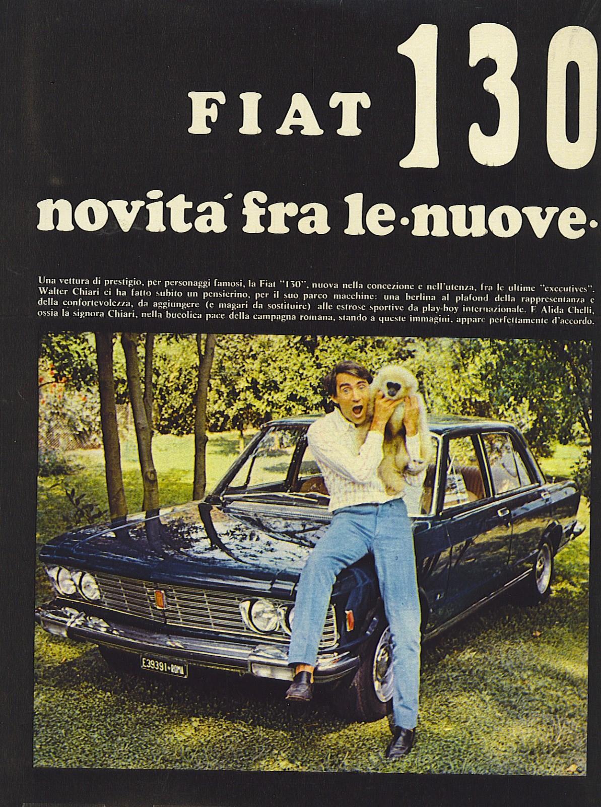 Walter Chiari & Fiat 130