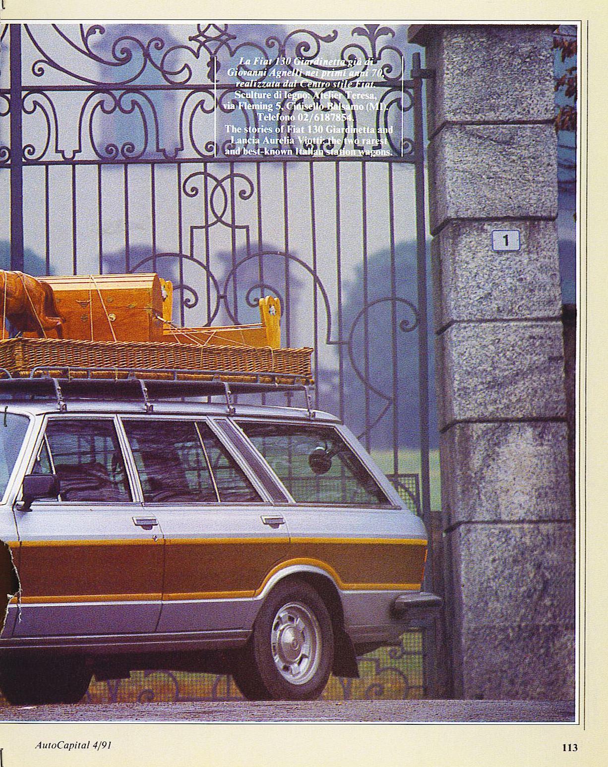AutoCapital1991 Fiat 130