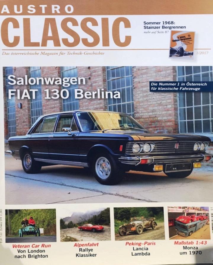 Austro Classics Fiat 130