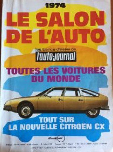 Le salon de l'auto Fiat 130