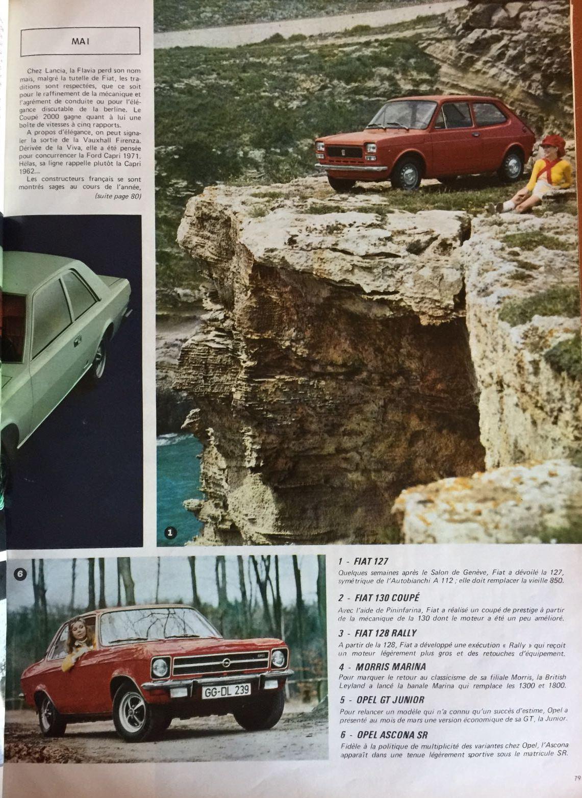le salon de l auto essai de l auto journal 1971 de. Black Bedroom Furniture Sets. Home Design Ideas