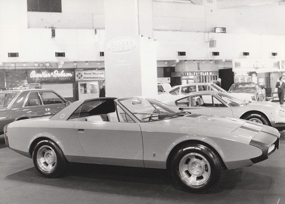 London Motorshow 1973 Fiat 130