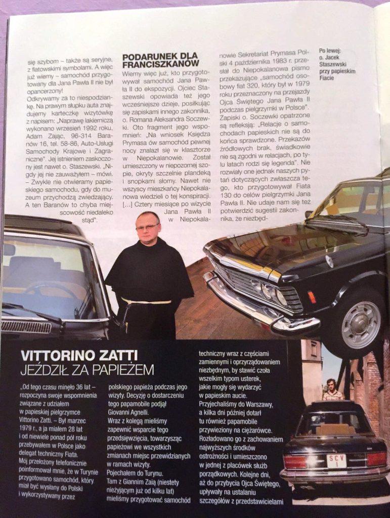 Fiat 130 papieskiego