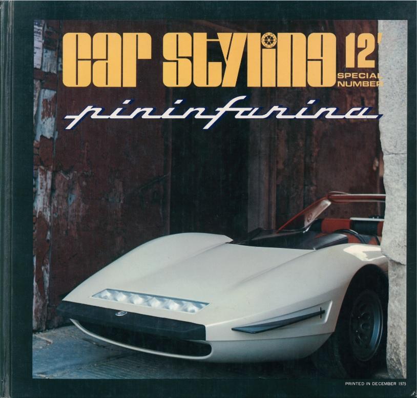 Car Styling nr 12, Pininfarina special