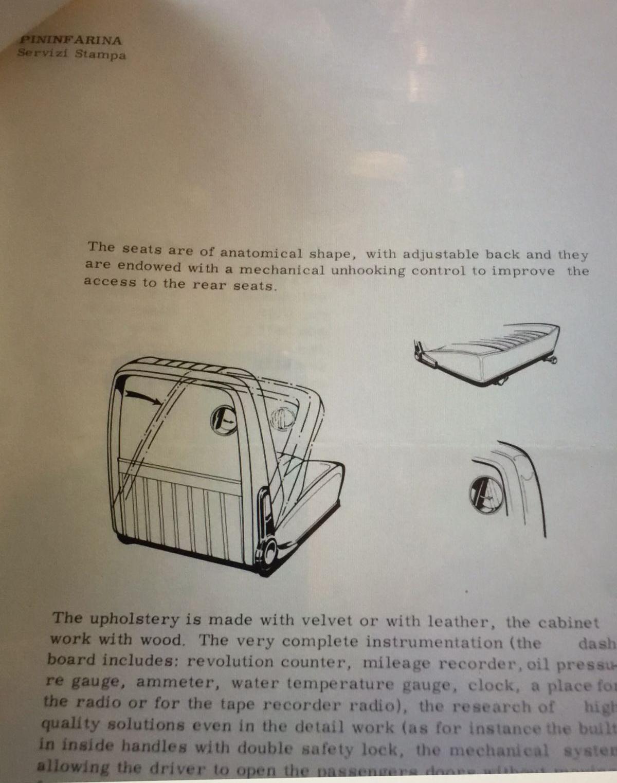 Fiat 130 press presentation 1971