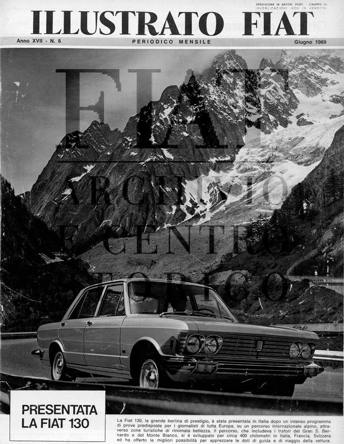 Illustro Fiat 1969