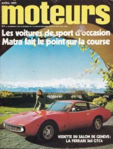Moteurs 1971