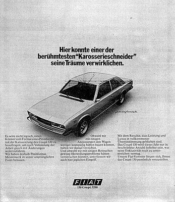 advertentie Fiat 130