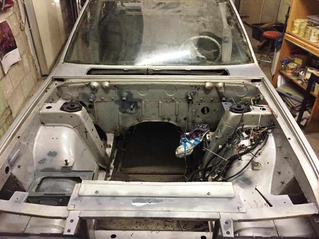 Fiat 130 restauratie