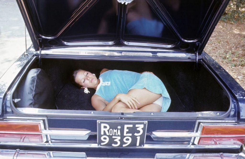 girl in the trunk
