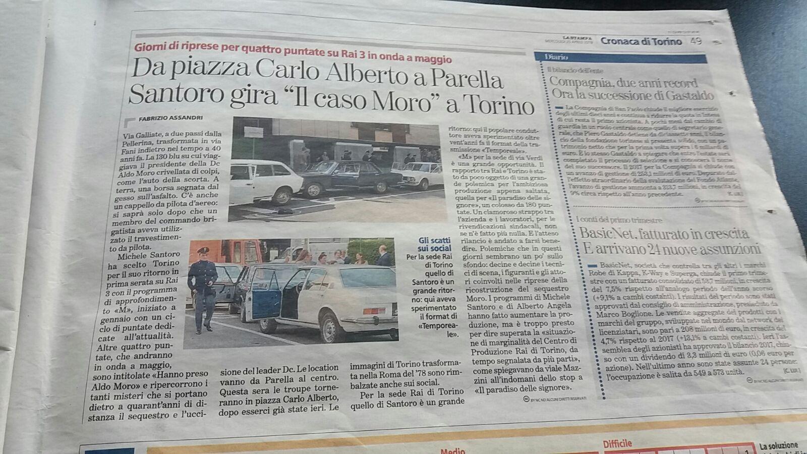 Cronaca di Torino Fiat 130