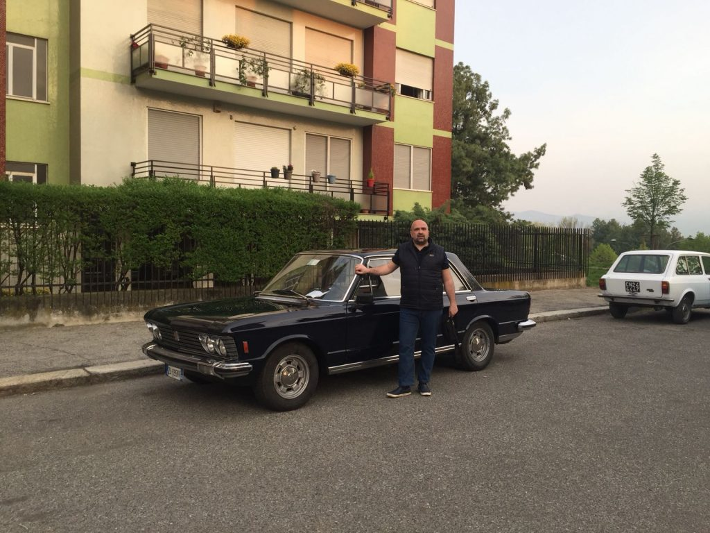 photo shoot kidnap Aldo Moro Fiat 130