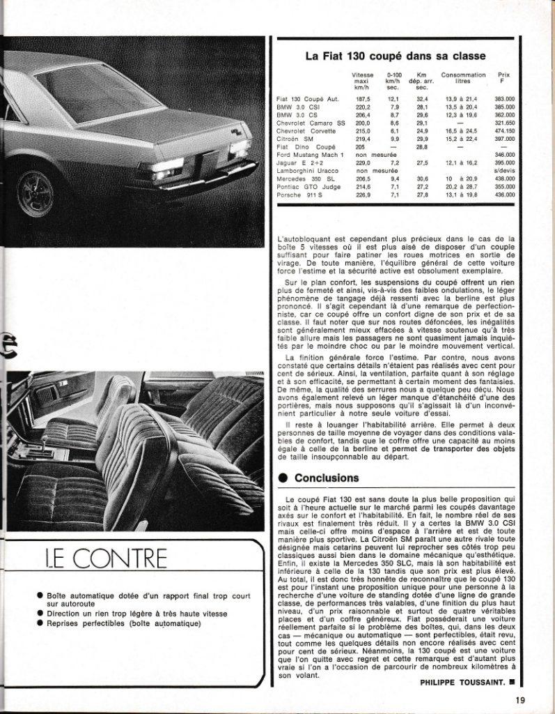 SportMoteur Fiat 130