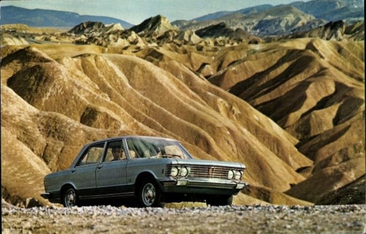 Postcard Fiat 130
