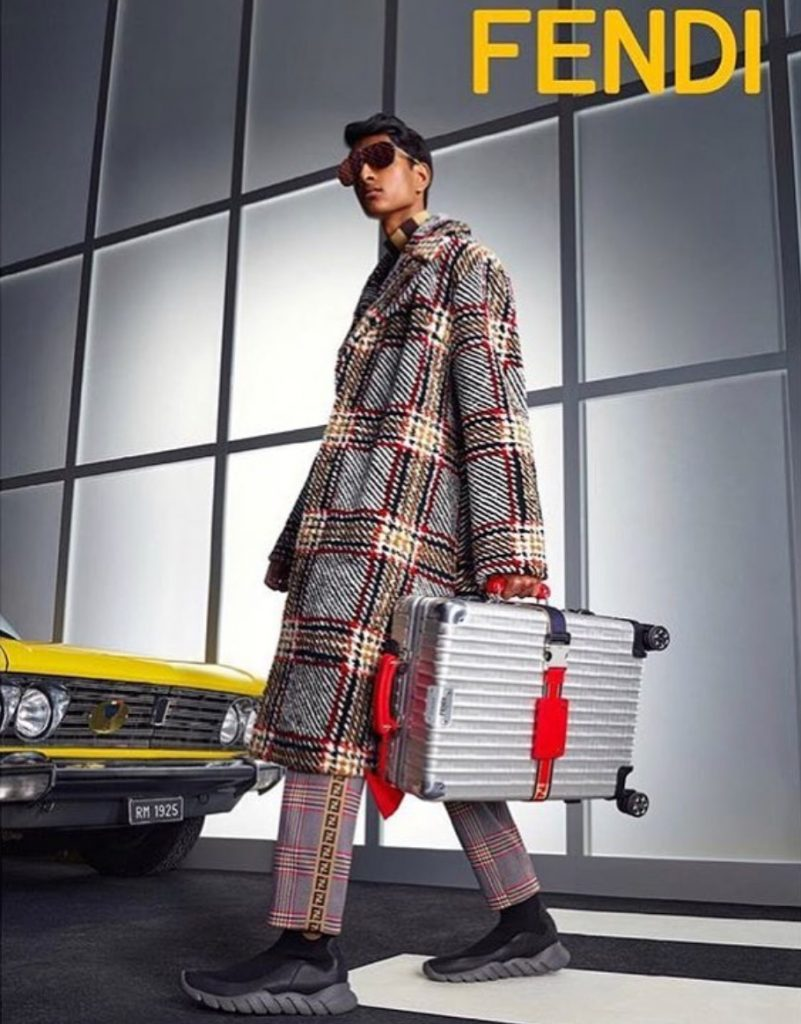 Fendi men collection