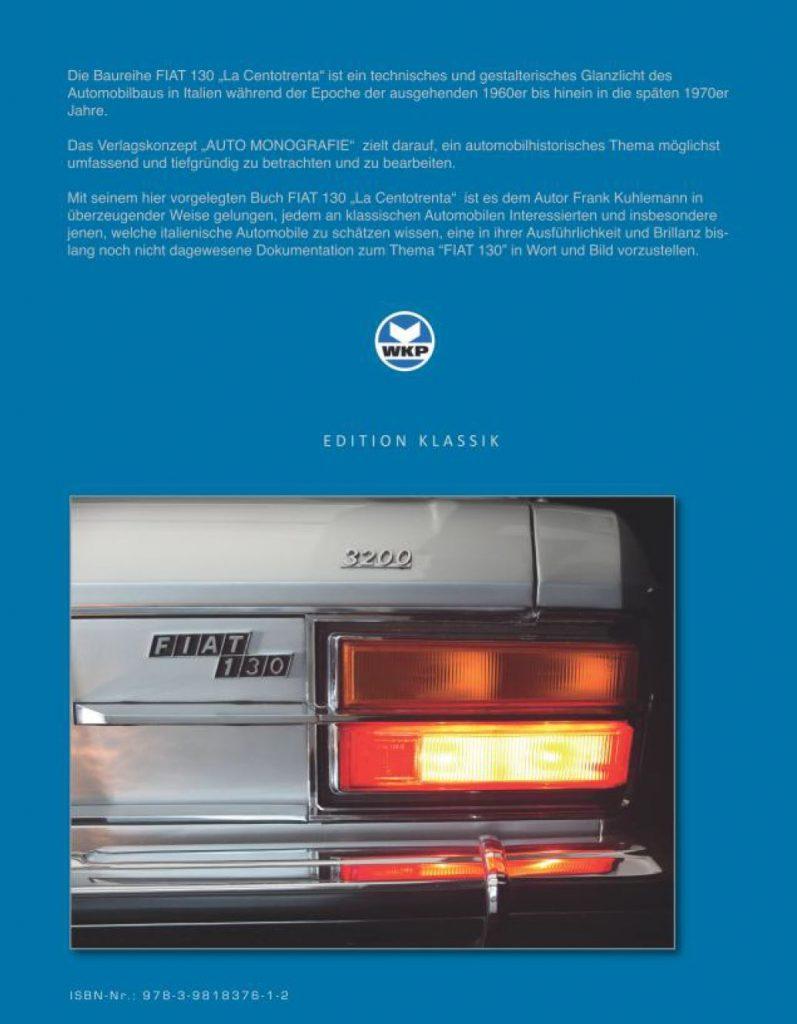 FIAT 130 - La Centotrenta