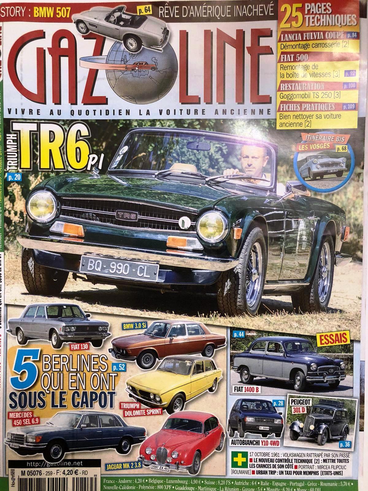 Gazoline 2018 Fiat 130