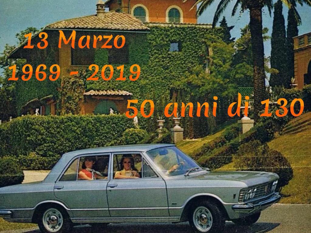 Fiat 130 50 years
