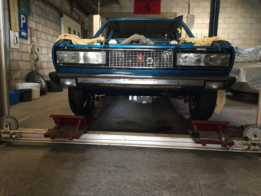 Blog Fiat 130 restauratie