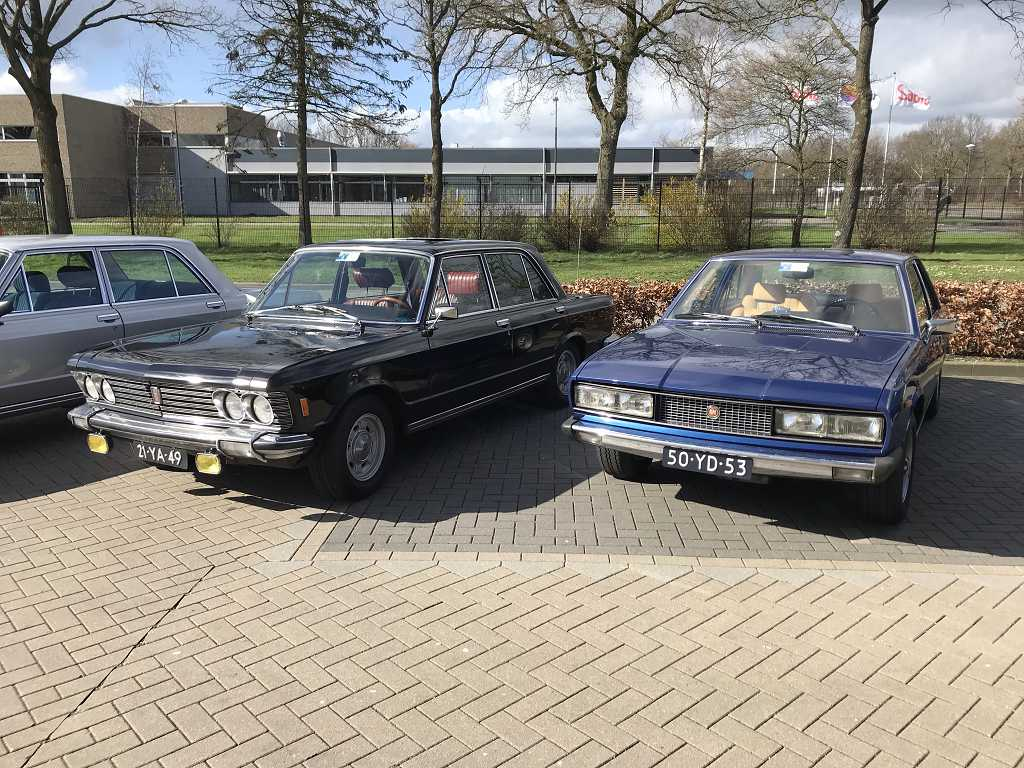 Fiat 130 meeting 2019