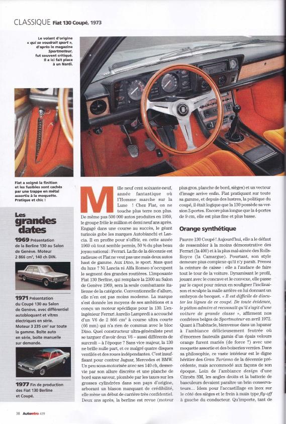 Autoretro 2019 Fiat 130