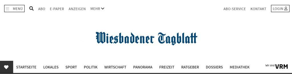 Wiebadener Tagblatt
