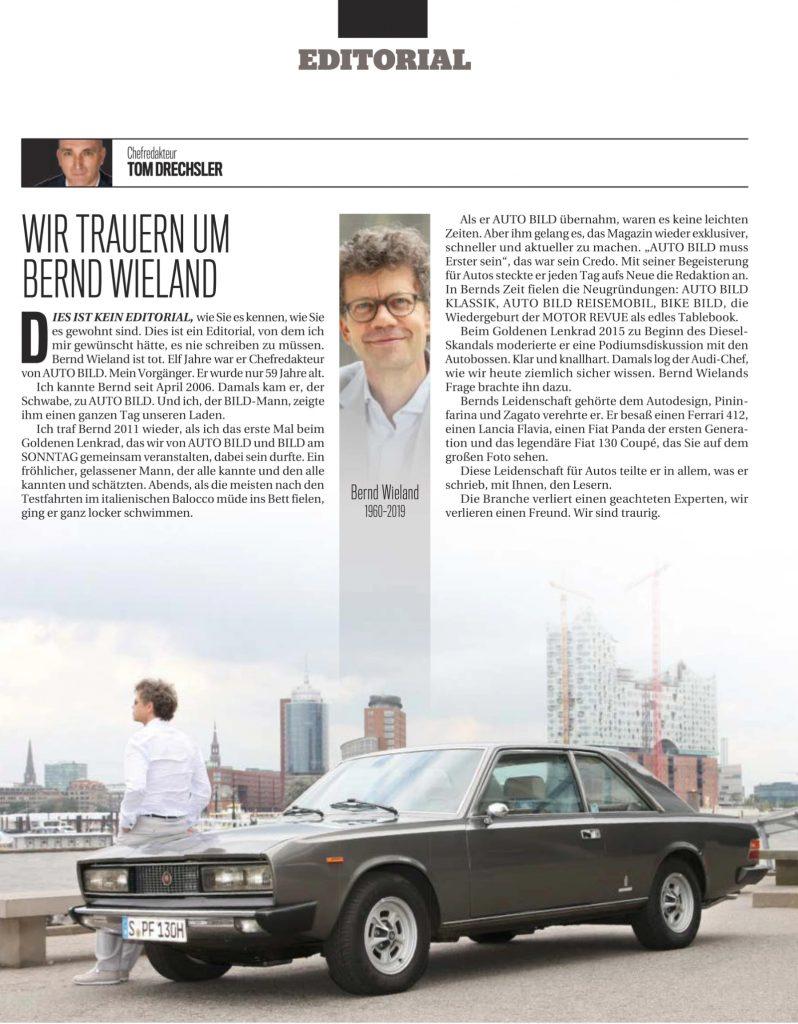 Autobild 2019 Bernd Wieland