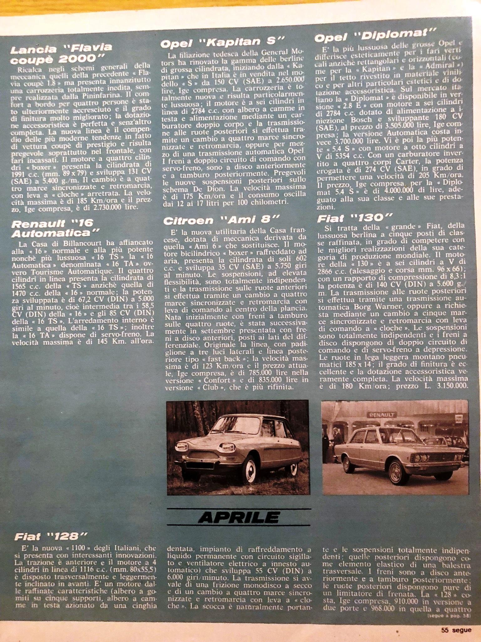 Autorama 1969 Fiat 130