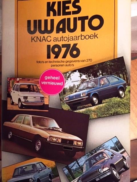 KNAC kies uw auto 1976